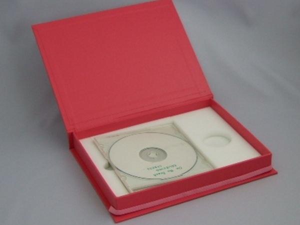 音楽・映画・動画教材などのDVD用ブックケース